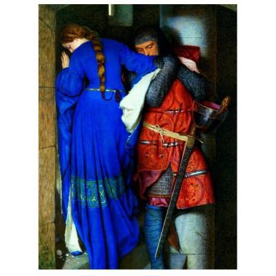 Puzzle  Eurographics-6000-3682 Fredrick Burton: Treffen auf den Turmstufen