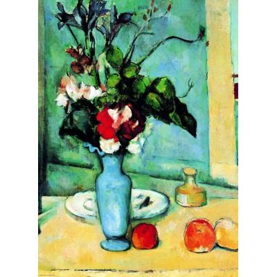 Puzzle  Eurographics-6000-3802 Paul Cezanne: Die Blaue Vase (Detail)