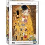 Puzzle  Eurographics-6000-4365 Klimt: Der Kuss