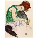 Puzzle  Eurographics-6000-4539 Egon Schiele: die Künstlerin