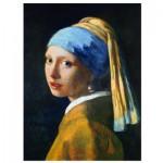 Puzzle  Eurographics-6000-5158 Vermeer Johannes: Das Mädchen mit dem Perlenohrring, 1665