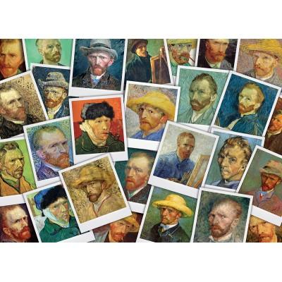 Puzzle  Eurographics-6000-5308 Van Gogh Vincent - Selfies