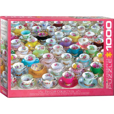 Puzzle  Eurographics-6000-5314 Teetasse Sammlung