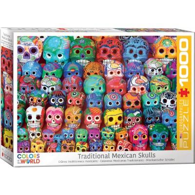 Puzzle  Eurographics-6000-5316 Mexikanischer Schädel