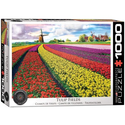 Puzzle  Eurographics-6000-5326 Tulpenfelder