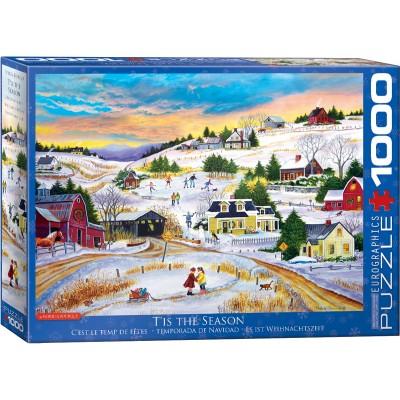 Puzzle  Eurographics-6000-5334 Patricia Bourque - Es ist Weihnachtszeit