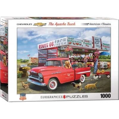 Puzzle  Eurographics-6000-5337 1959 Chevrolet Apache-Giordano