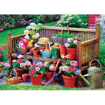 Puzzle  Eurographics-6000-5345 Gartenbank