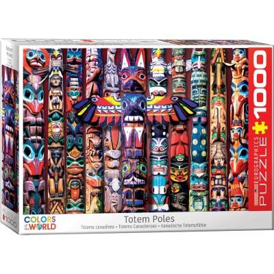 Puzzle Eurographics-6000-5349 Totem Poles