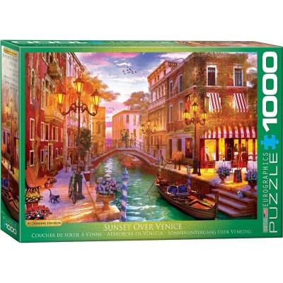 Puzzle  Eurographics-6000-5353 Dominic Davison - Sunset over Venice