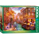 Puzzle  Eurographics-6000-5353 Dominic Davison - Sunset over Venice