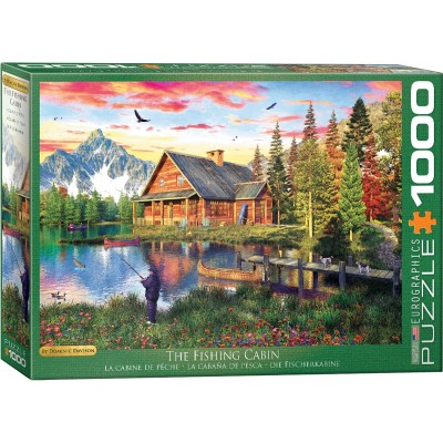 Puzzle  Eurographics-6000-5376 Dominic Davison - The Fishing Cabin