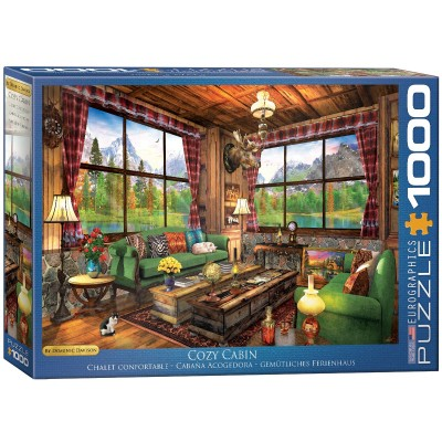 Puzzle  Eurographics-6000-5377 Dominic Davison - Cozy Cabin