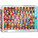 Puzzle  Eurographics-6000-5420 Russische Matryoschka Puppen
