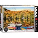 Puzzle  Eurographics-6000-5427 Lakeside Cottage Quebec
