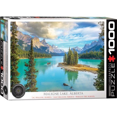 Puzzle  Eurographics-6000-5430 Maligne Lake Alberta
