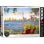 Puzzle  Eurographics-6000-5434 Blick auf Toronto
