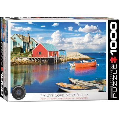 Puzzle  Eurographics-6000-5438 Peggy's Cove Nova Scotia