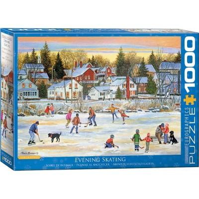 Puzzle Eurographics-6000-5439 Evening Skating