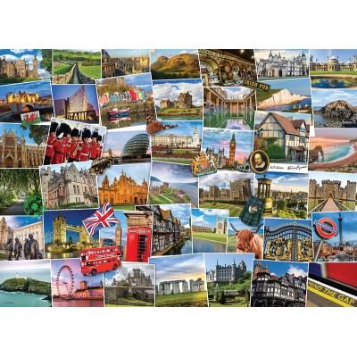 Puzzle  Eurographics-6000-5464 Globetrotter Vereinigtes Königreich