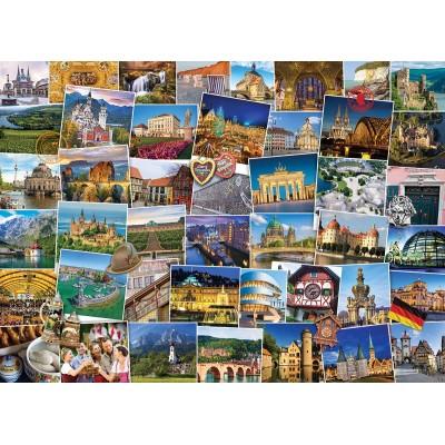 Puzzle Eurographics-6000-5465 Globetrotter Deutschland