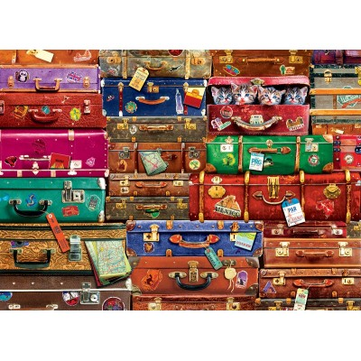 Puzzle  Eurographics-6000-5468 Reisekoffer