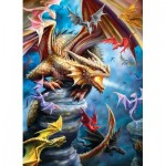 Puzzle  Eurographics-6000-5475 Anne Stokes - Drachen Clan