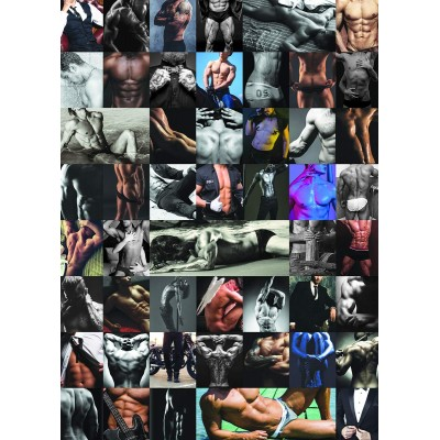 Puzzle  Eurographics-6000-5490 50 Shades of Him