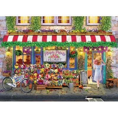 Puzzle  Eurographics-6000-5518 Plush Petals Flower Shop