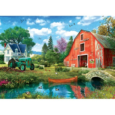 Puzzle  Eurographics-6000-5526 The Red Barn