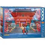 Puzzle  Eurographics-6000-5533 Sakura im Frühling