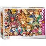 Puzzle  Eurographics-6000-5534 Venezianische Masken