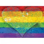 Puzzle  Eurographics-6000-5542 Love & Pride!