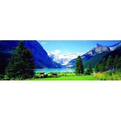 Puzzle  Eurographics-6005-1456 Lake Louise, Kanada