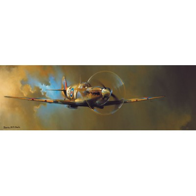 Puzzle  Eurographics-6010-0952 Spitfire by Barrie A.F. Clark
