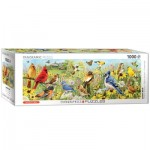 Puzzle  Eurographics-6010-5338 Vögel im Garten