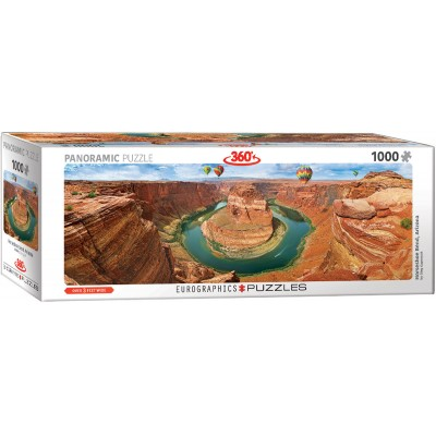 Puzzle  Eurographics-6010-5371 Horseshoe Bend Arizona