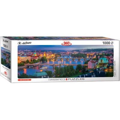 Puzzle  Eurographics-6010-5372 Prag im Abendlicht