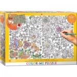 Puzzle  Eurographics-6033-0883 XXL Color Me - Versteckt Schmetterlinge