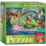 Puzzle  Eurographics-6035-0424 XXL Teile - The Jungle Book