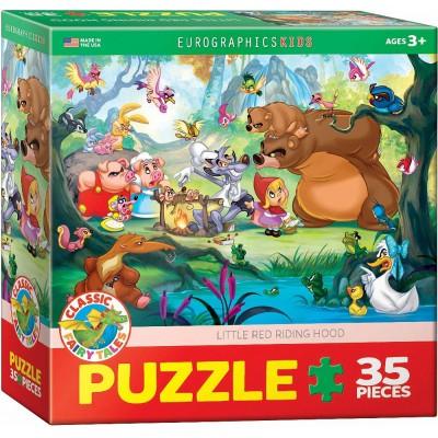Puzzle  Eurographics-6035-0876 Rotkäppchen