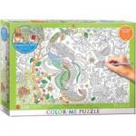 Puzzle  Eurographics-6055-0889 XXL Color Me - Tropical Birds