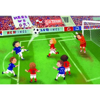 Puzzle  Eurographics-6060-0483 Junior League - Soccer