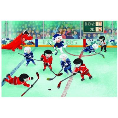 Puzzle  Eurographics-6060-0486 Hockey Juniorsliga