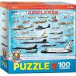 Puzzle  Eurographics-6100-0086 Flugzeuge