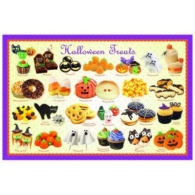 Puzzle  Eurographics-6100-0432 Halloween Bonbons