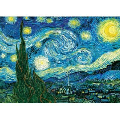 Puzzle  Eurographics-6100-1204 XXL Teile - Van Gogh Vincent: Sternennacht über der Rhone