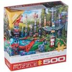 Puzzle  Eurographics-6500-5361 XXL Teile - Totem Dreams