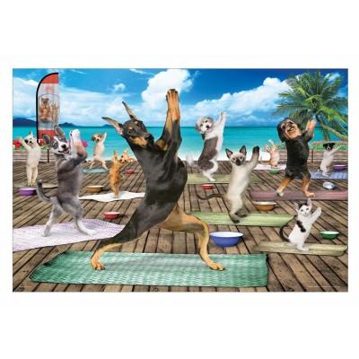 Puzzle  Eurographics-6500-5454 XXL Teile - Yoga Spa