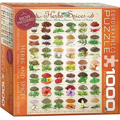 Puzzle  Eurographics-8000-0598 Kräuter und Gewürze